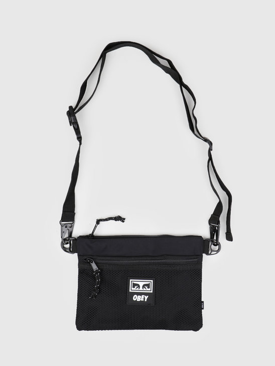 Obey Conditions Side Bag BLK 100010110