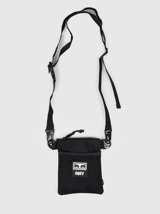 Obey Conditions Side Pouch BLK 100010111