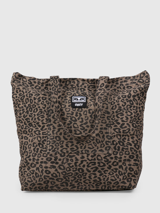 Obey Wasted Tote Bag LEO 100010103