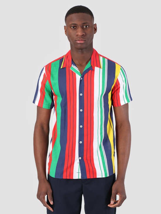 Kronstadt Cuba Short Sleeve Shirt Gr.91 Multi KS2672