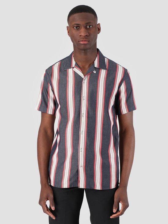 Kronstadt Cuba Short Sleeve Shirt Gr.104 Indigo KS2688
