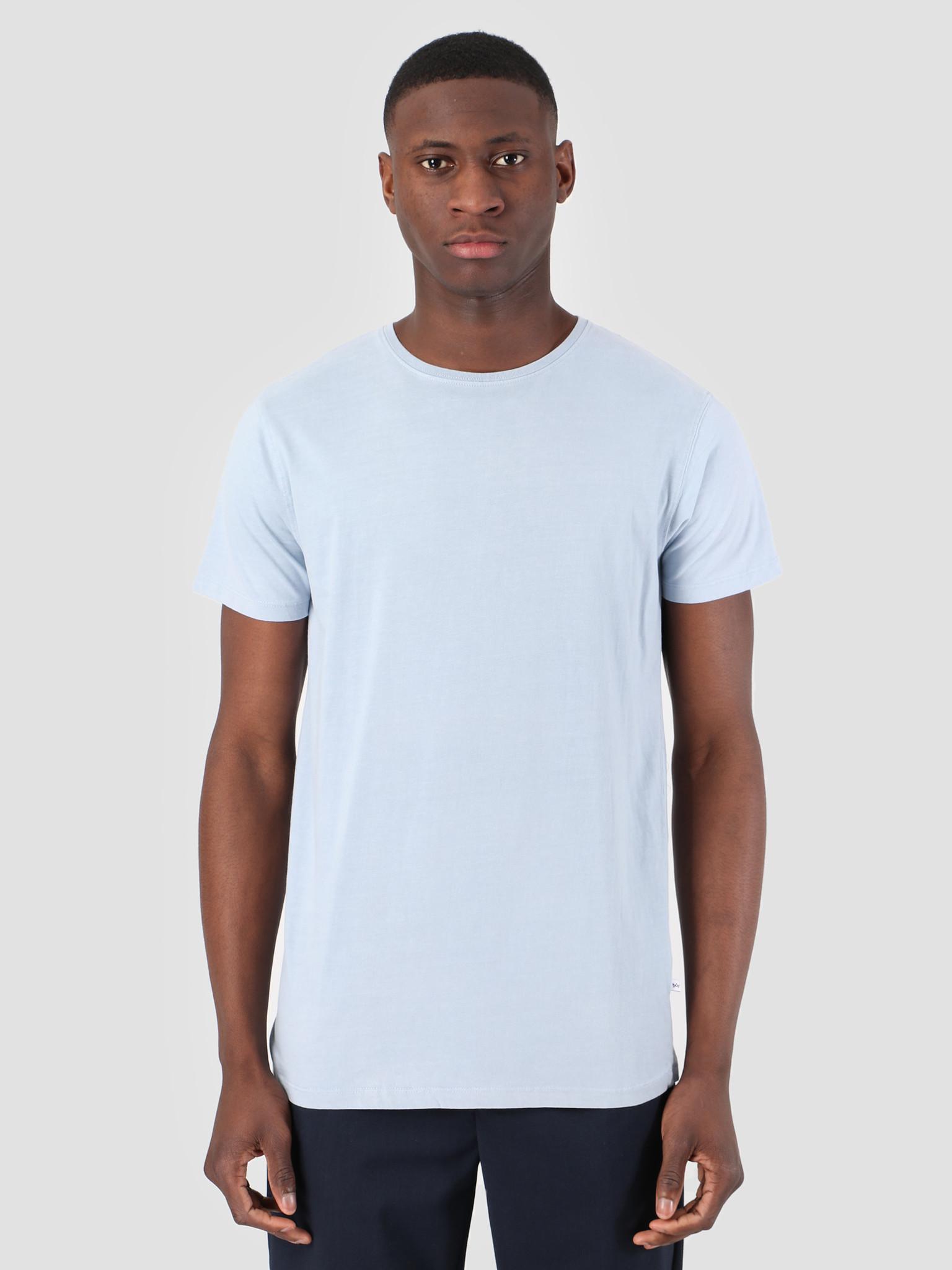 Kronstadt Kronstadt Hey Ho Basic T-Shirt Lt Blue KS2455