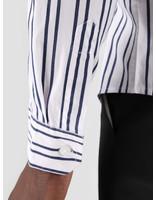 Kronstadt Kronstadt Johan Gr.84 Shirt White Dark Blue KS2665
