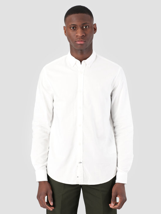 Kronstadt Johan Oxford Dyed Shirt Off White KS2470