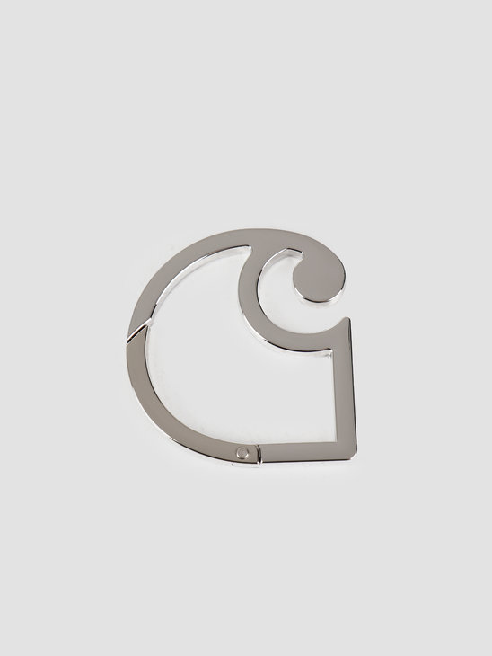 Carhartt WIP C Logo Carabiner Silver I026762