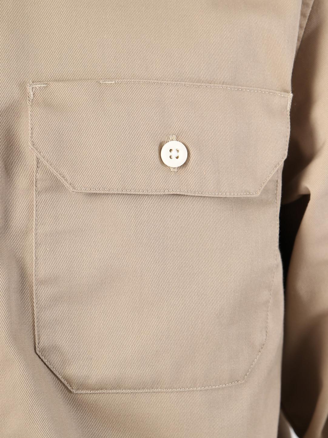 Carhartt WIP Carhartt WIP Longsleeve Master Shirt Rinsed Wall I023774