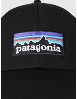 Patagonia Patagonia P 6 Logo LoPro Trucker Hat Black 38016