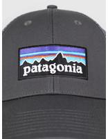 Patagonia Patagonia P 6 Logo LoPro Trucker Hat Forge Grey w Forge Grey 38016