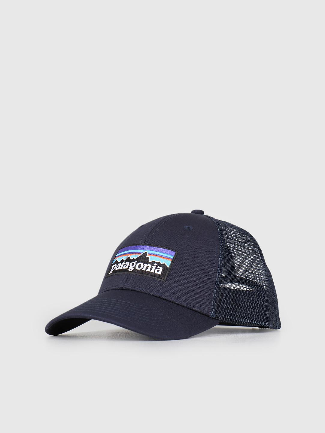 Patagonia Patagonia P 6 Logo LoPro Trucker Hat Navy Blue w Navy Blue 38016