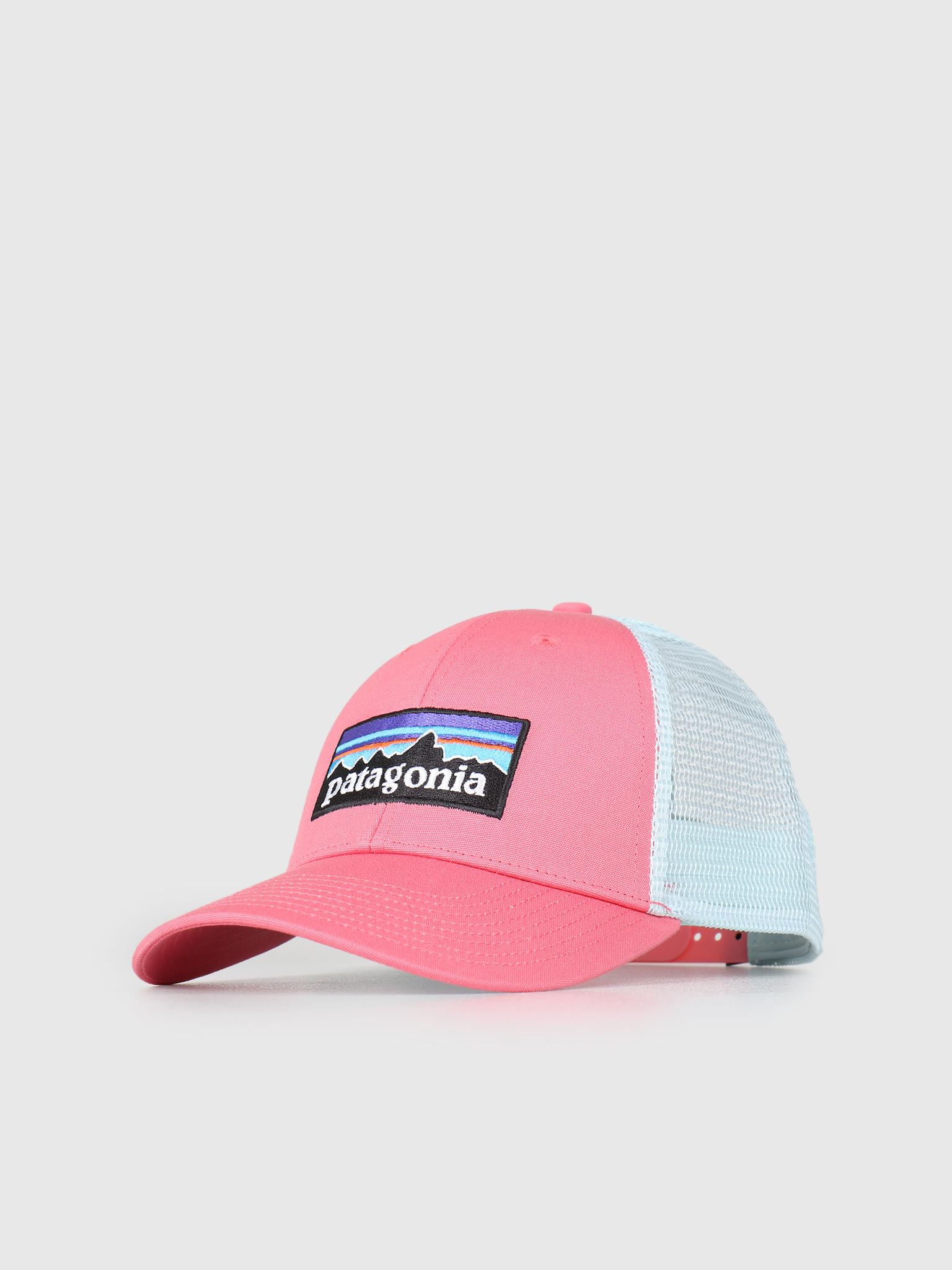 Patagonia Patagonia P 6 Logo LoPro Trucker Hat Sticker Pink 38016