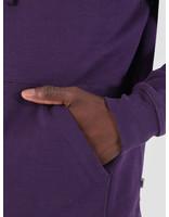 Quality Blanks Quality Blanks QB93 Classic Hoodie Egg Plant Purple