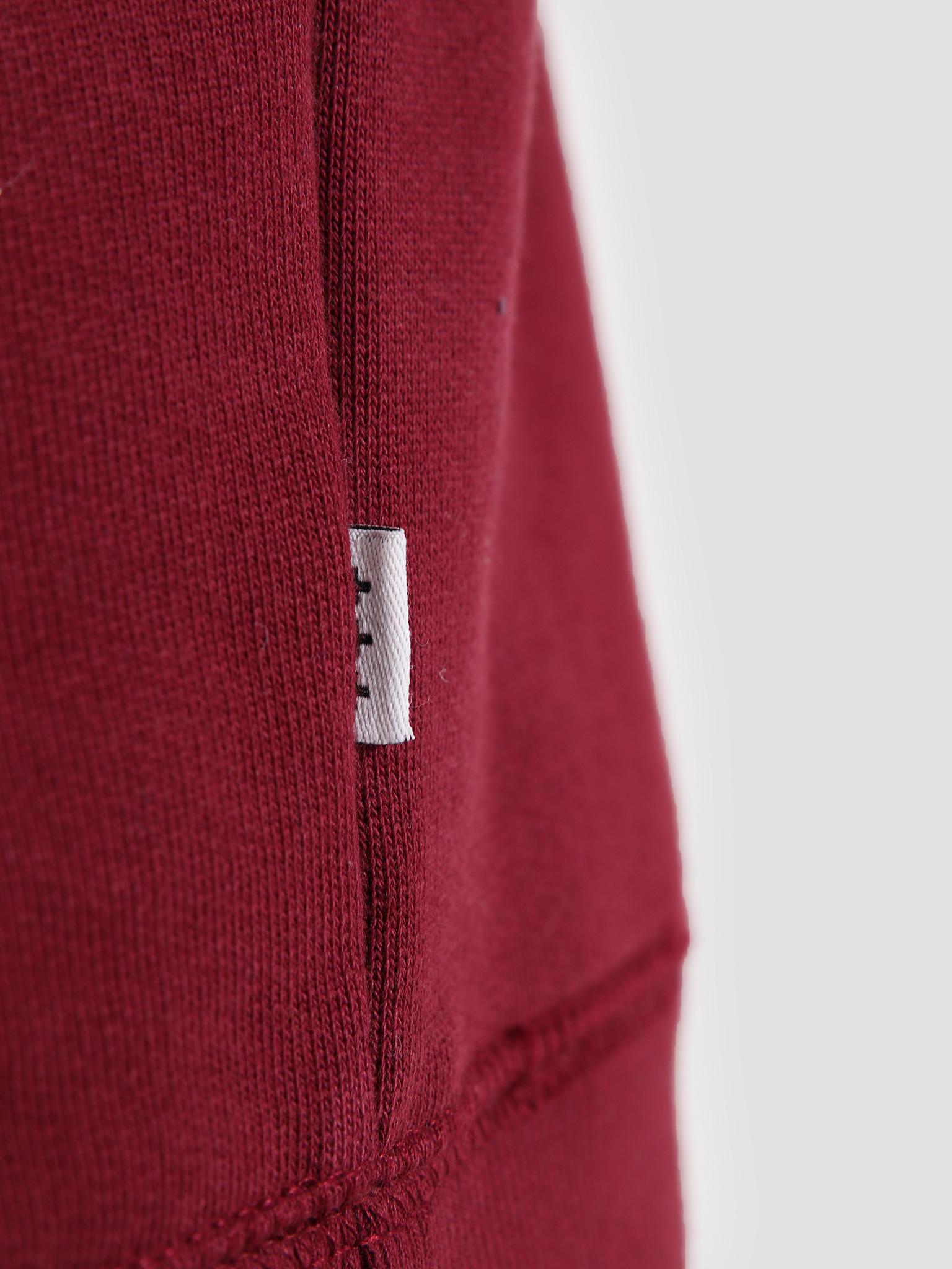 Quality Blanks Quality Blanks QB94 Classic Crewneck Burgundy Red