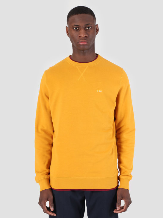 Quality Blanks QB94 Classic Crewneck Mustard Yellow