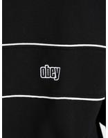 Obey Obey Johnny Mock Neck Zip BKM 111620046