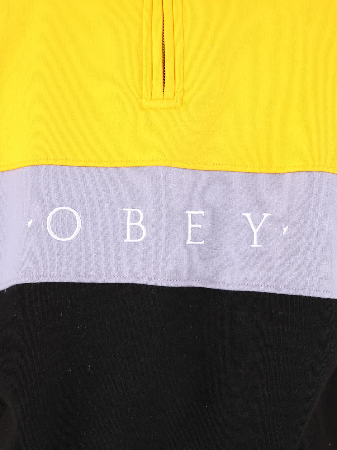 Obey Obey Chelsea Mock Neck Zip YWM 111620045