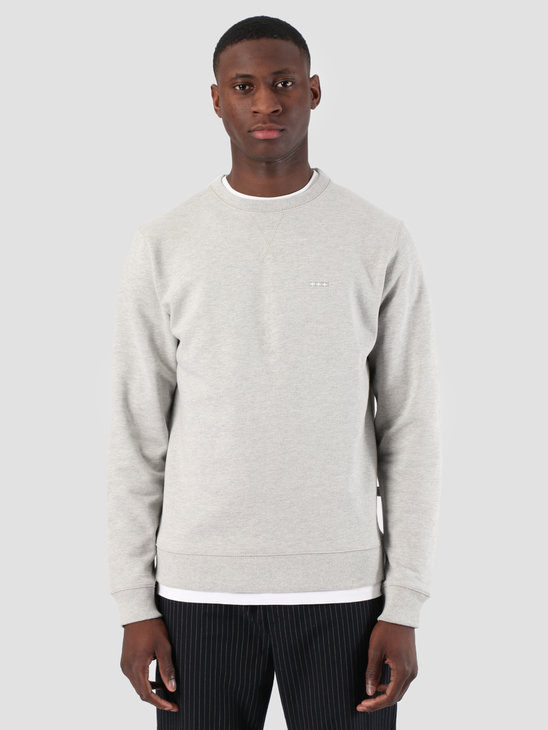 Quality Blanks QB94 Classic Crewneck Grey Heather