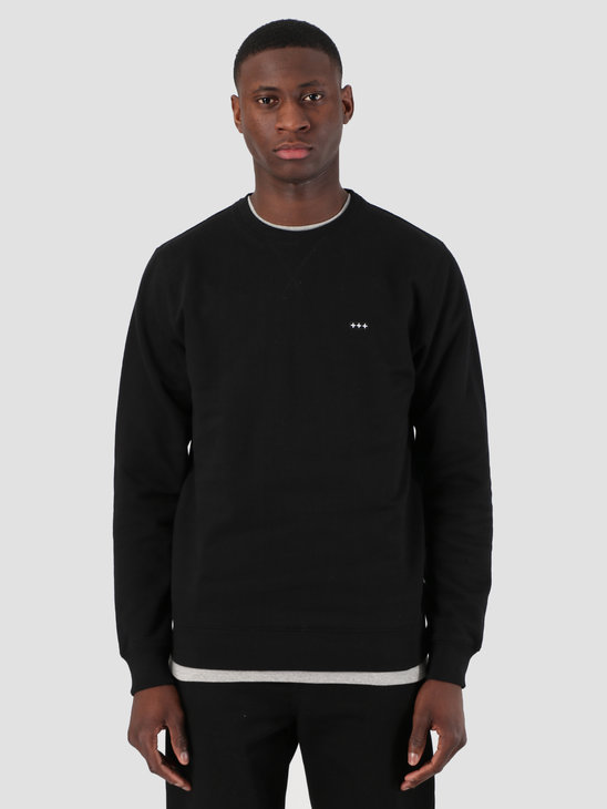 Quality Blanks QB94 Classic Crewneck Black