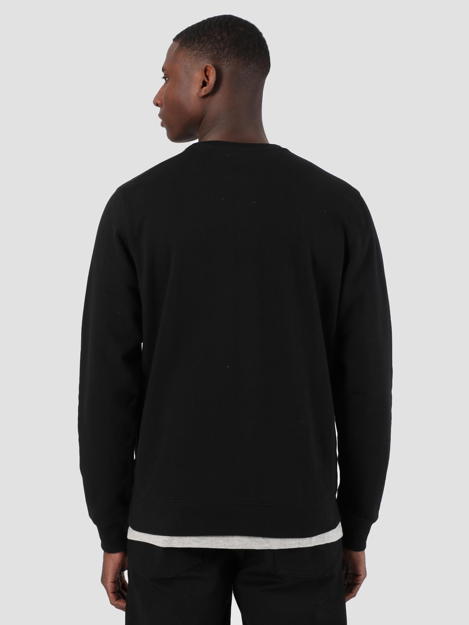 Quality Blanks Quality Blanks QB94 Classic Crewneck Black