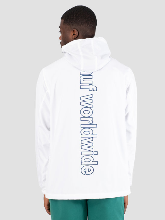 HUF Peak 3.0 Anorak Jacket White JK00132