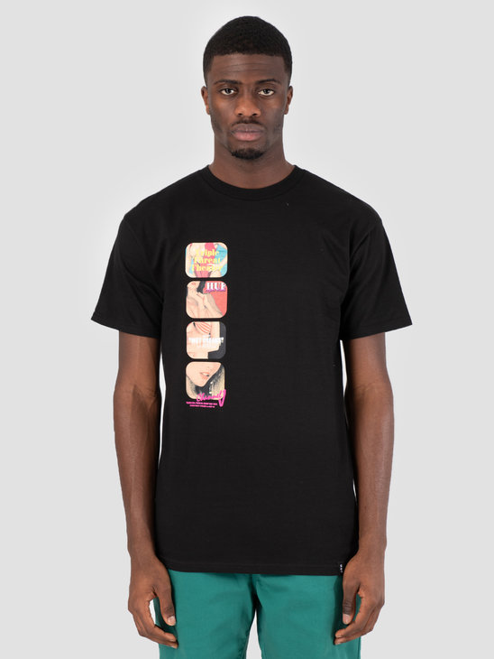 HUF Channel J T-Shirt Black TS00586