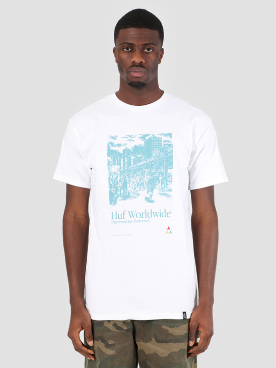 HUF Tomorrow T-Shirt White TS00585