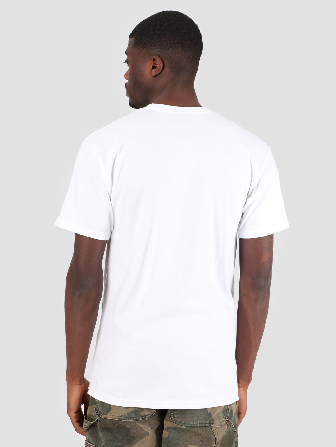 HUF HUF Tomorrow T-Shirt White TS00585