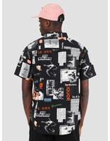 HUF HUF Headlines Woven Shirt Black BU00045