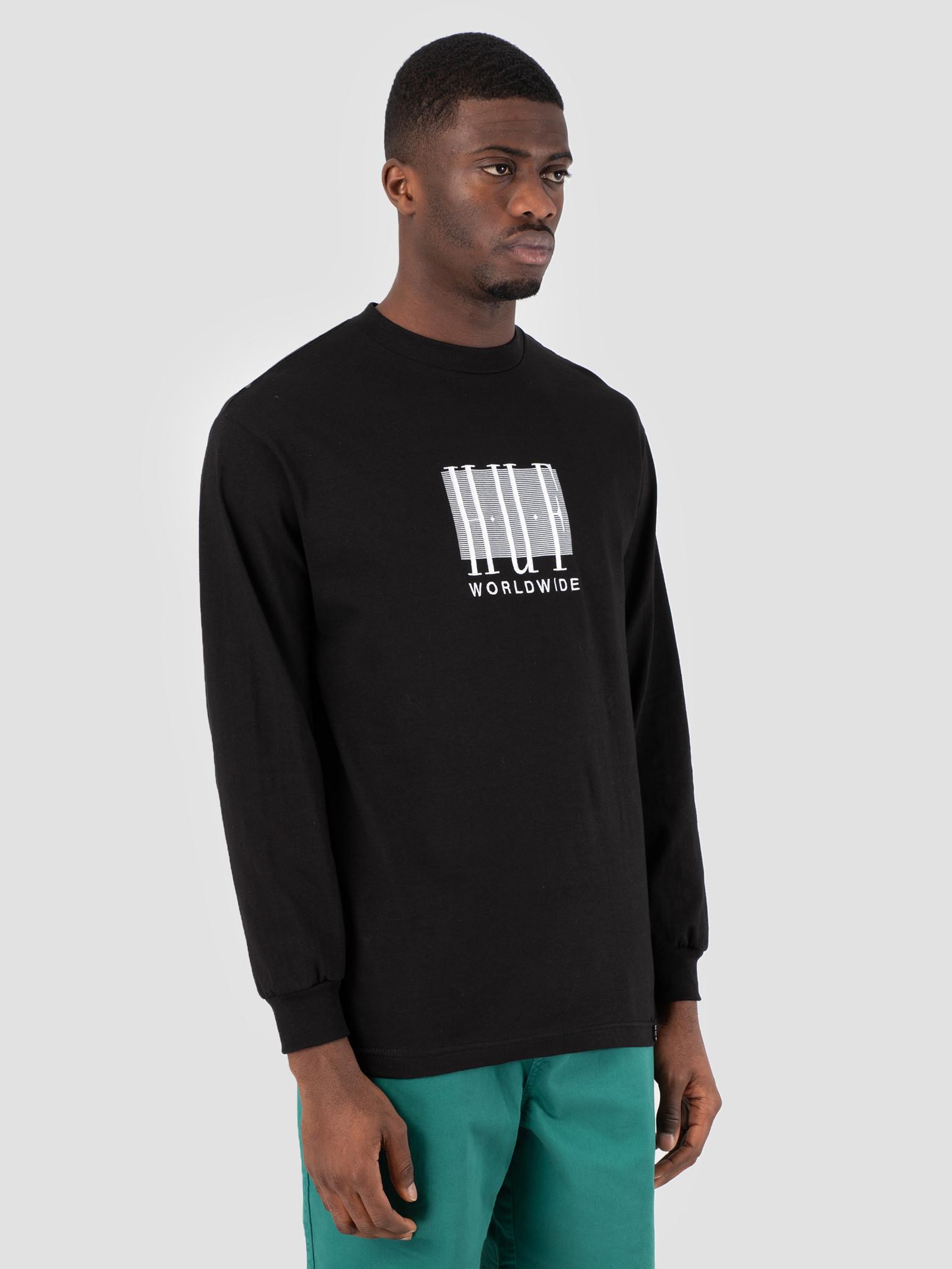 HUF HUF Linear Longsleeve Black TS00578