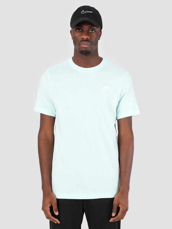 Nike Sportswear T-Shirt Teal Tint White AR4997-336