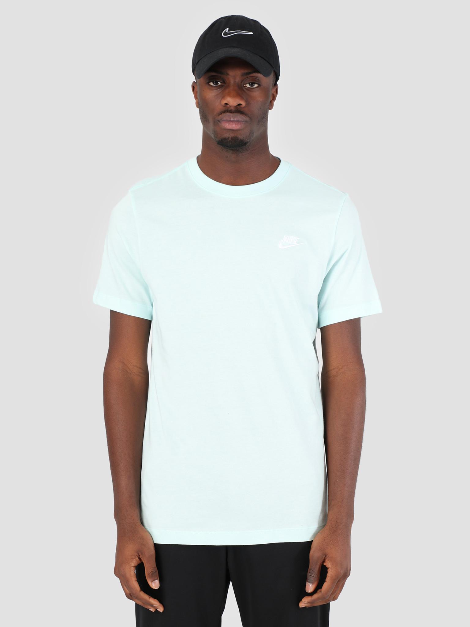 84d69351a0 Nike Sportswear T-Shirt Teal Tint White AR4997-336   FRESHCOTTON