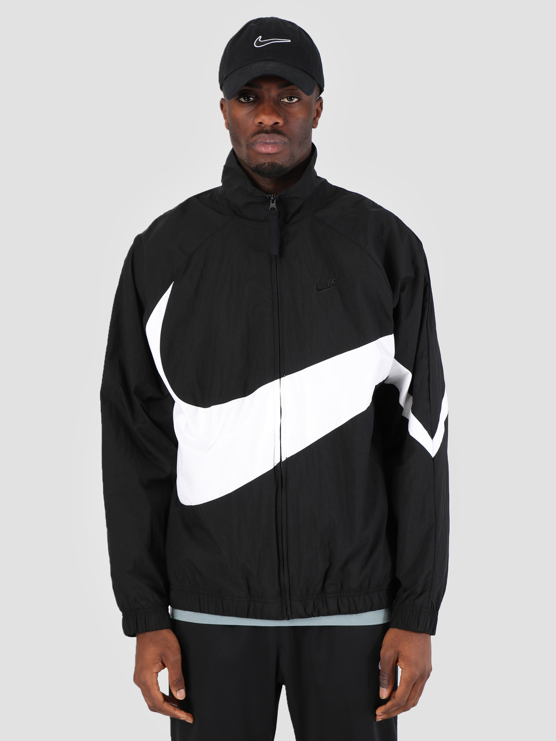 the best attitude 65581 70a9f Nike Nike Sportswear Jacket Black White Black Black Ar3132-010