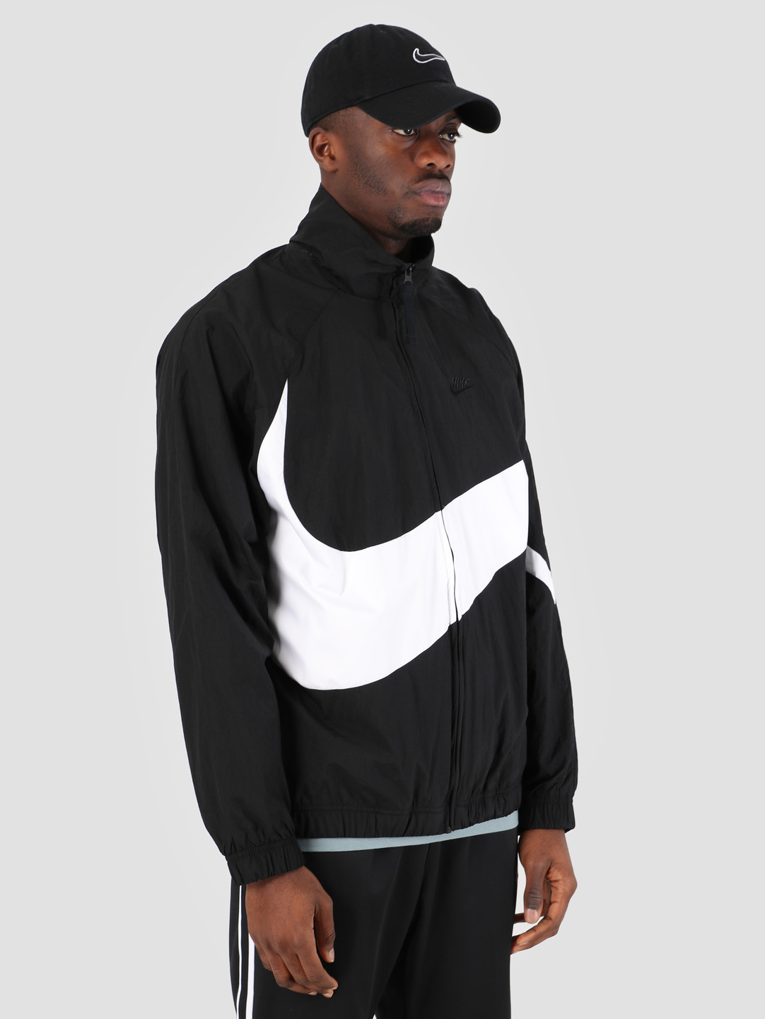 Nike Nike Sportswear Jacket Black White Black Black Ar3132-010