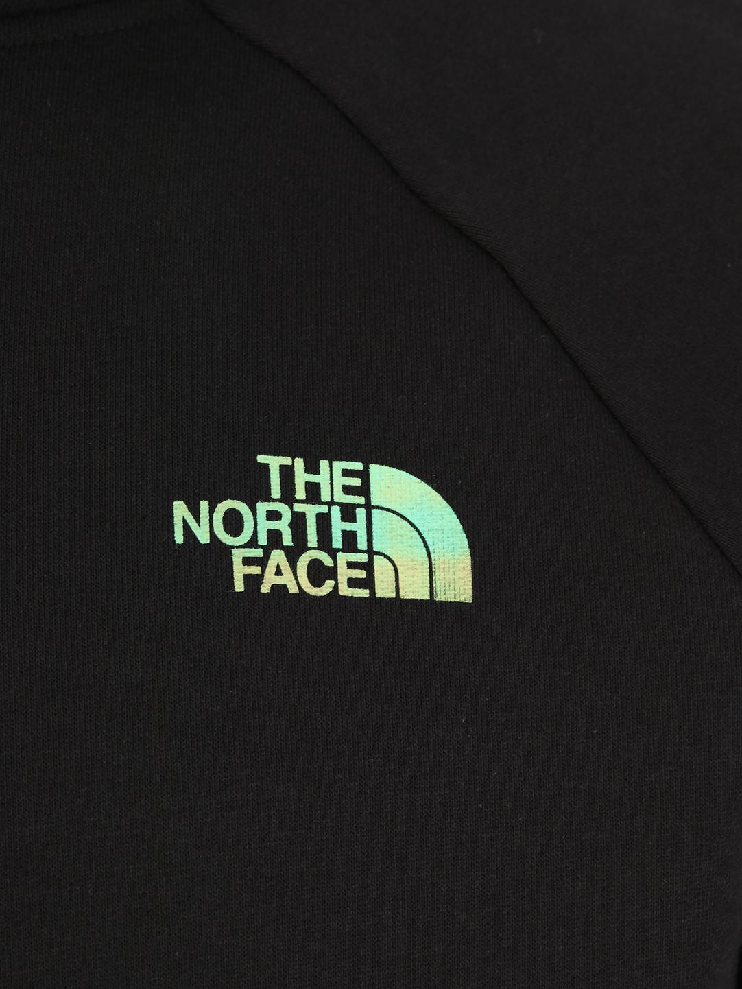 The North Face The North Face Raglan Red Box Hoodie TNFblkiridescnt T92ZWUXEK