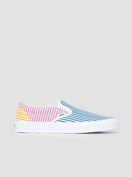 Vans UA Classic Slip-On Deck Club Mix Stripes Vn0A38F7Vm01