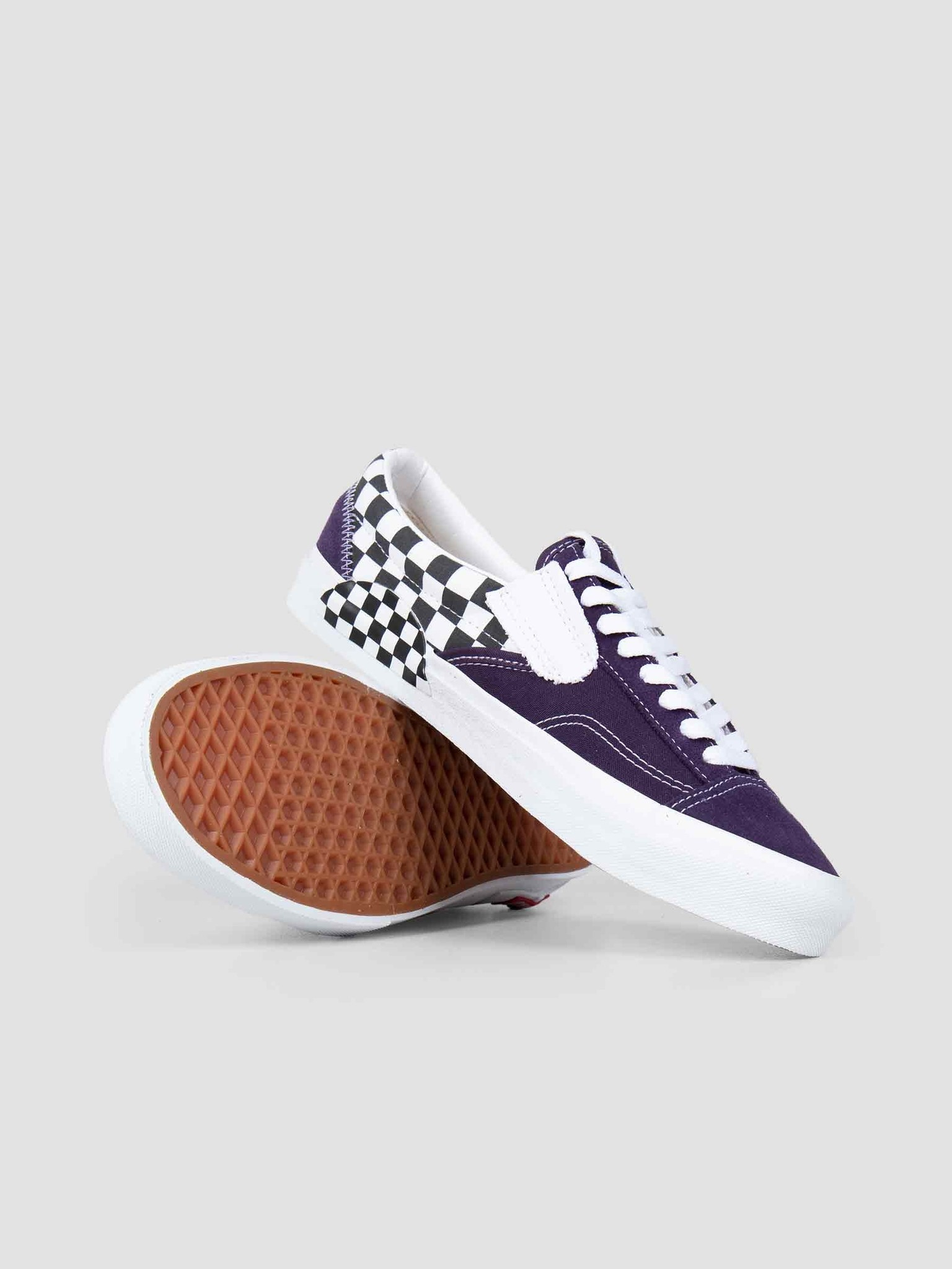 Vans Vans UA Slip-On Cap Checkerboard Mysterioso True White Vn0A3Wm5Vo31