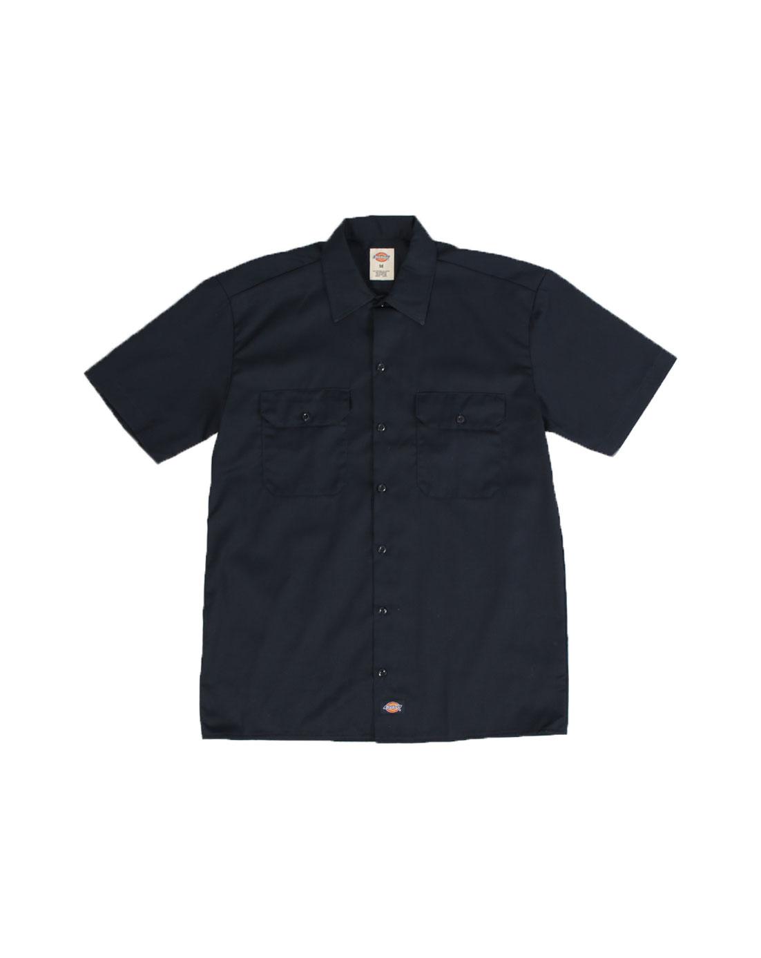 Dickies Work Shirt Shortsleeve Dark Navy 1574-DN