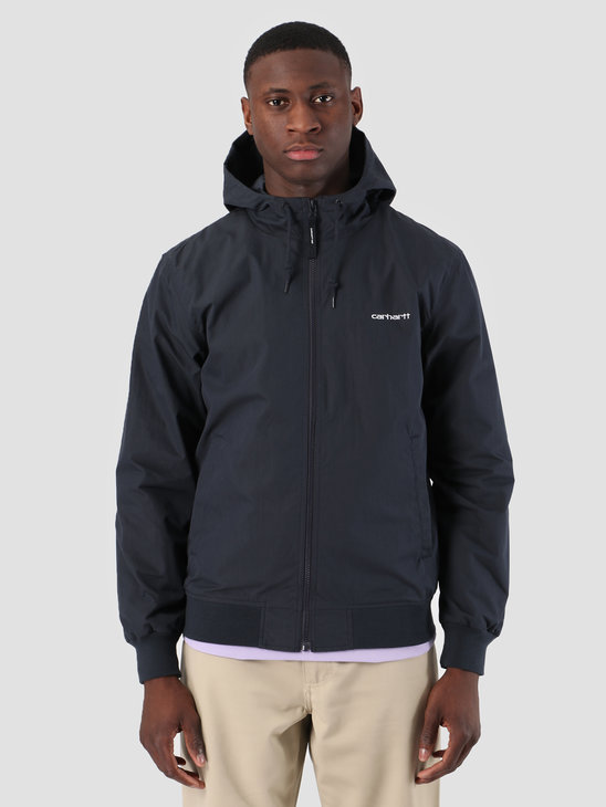Carhartt WIP Marsh Jacket Dark Navy White I025756