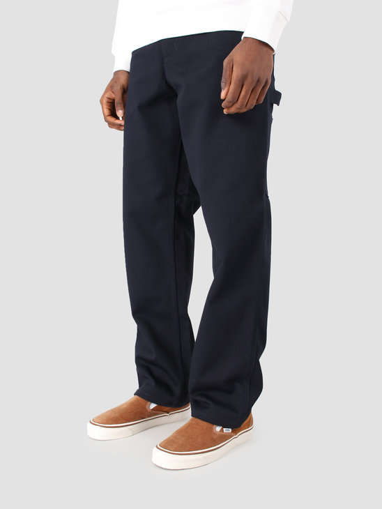 Carhartt WIP Single Knee Pant Rigid Dark Navy I025708