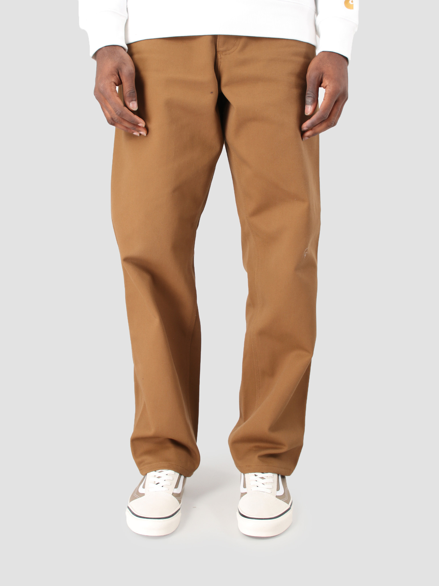 Carhartt WIP Carhartt WIP Single Knee Pant Rigid Hamilton Brown I025708
