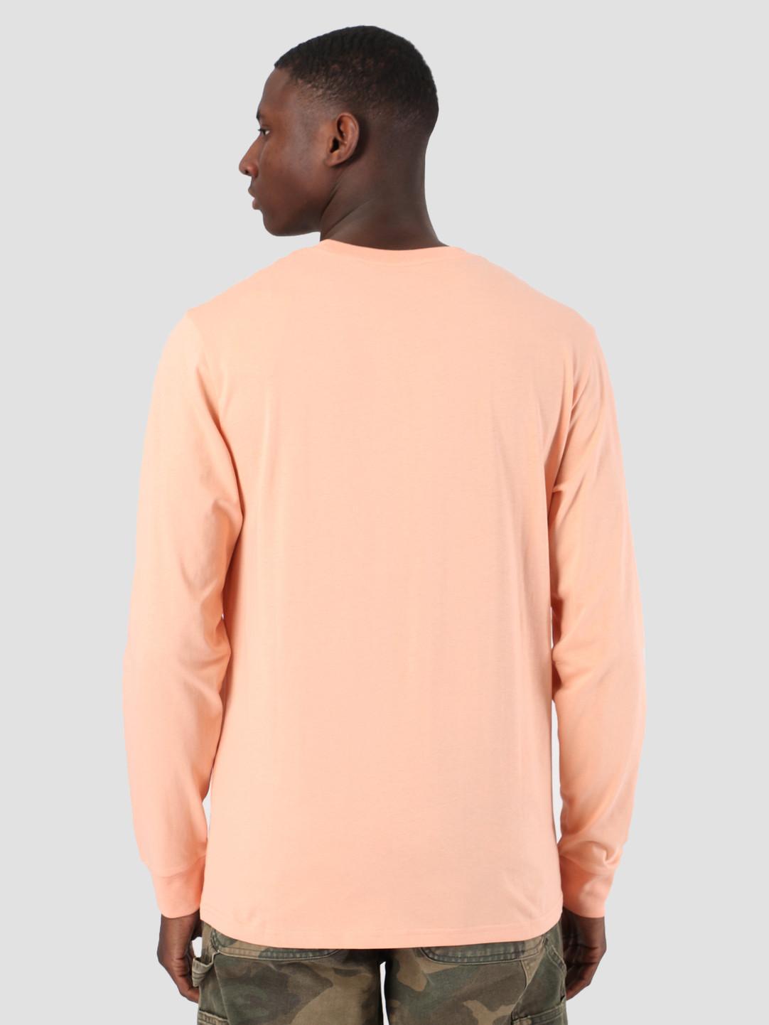 Carhartt WIP Carhartt WIP Long Sleeve Pocket T-Shirt Peach 61091000