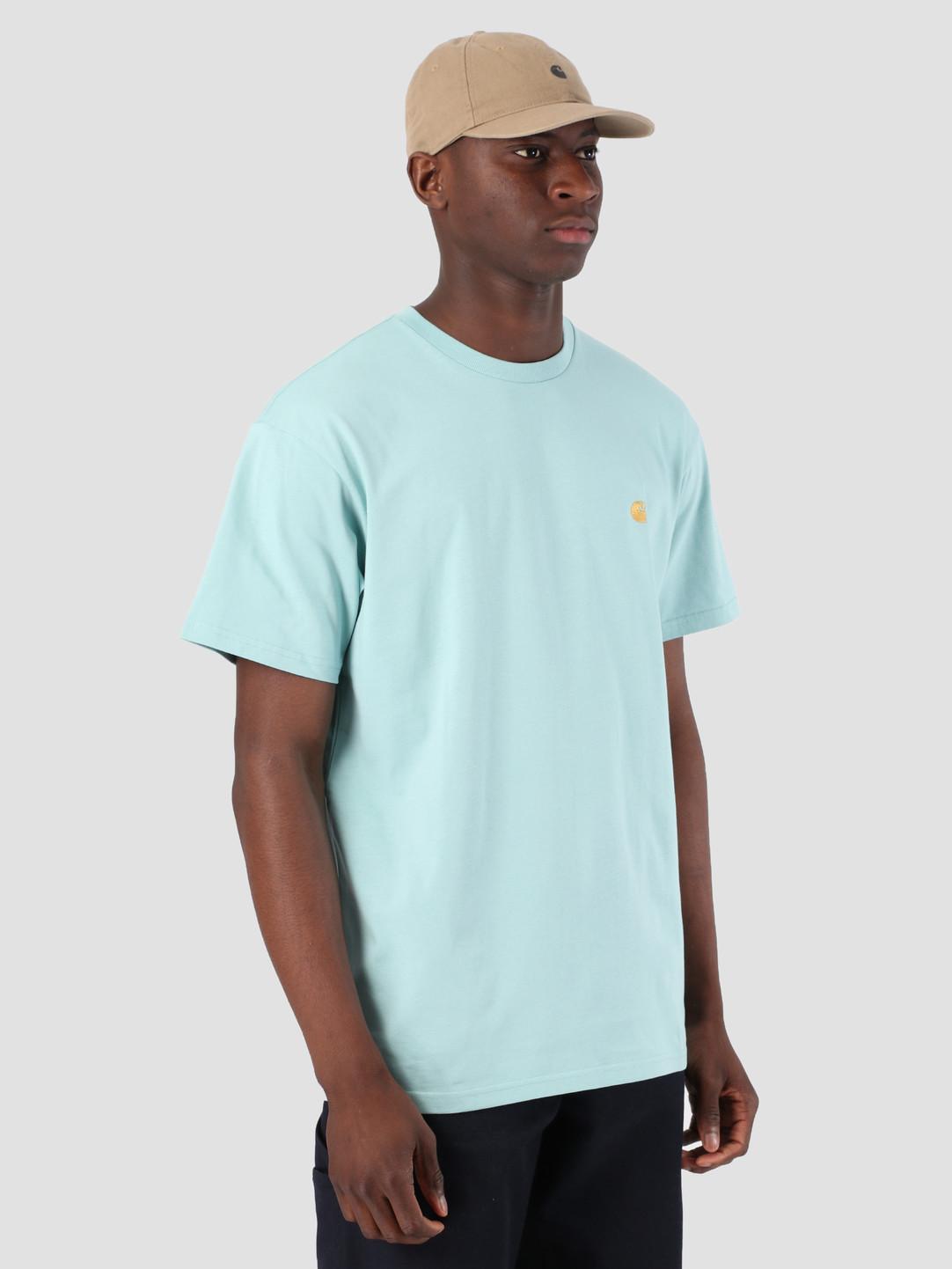 Carhartt WIP Carhartt WIP Short Sleeve Chase T-Shirt Soft Aloe Gold 61091000