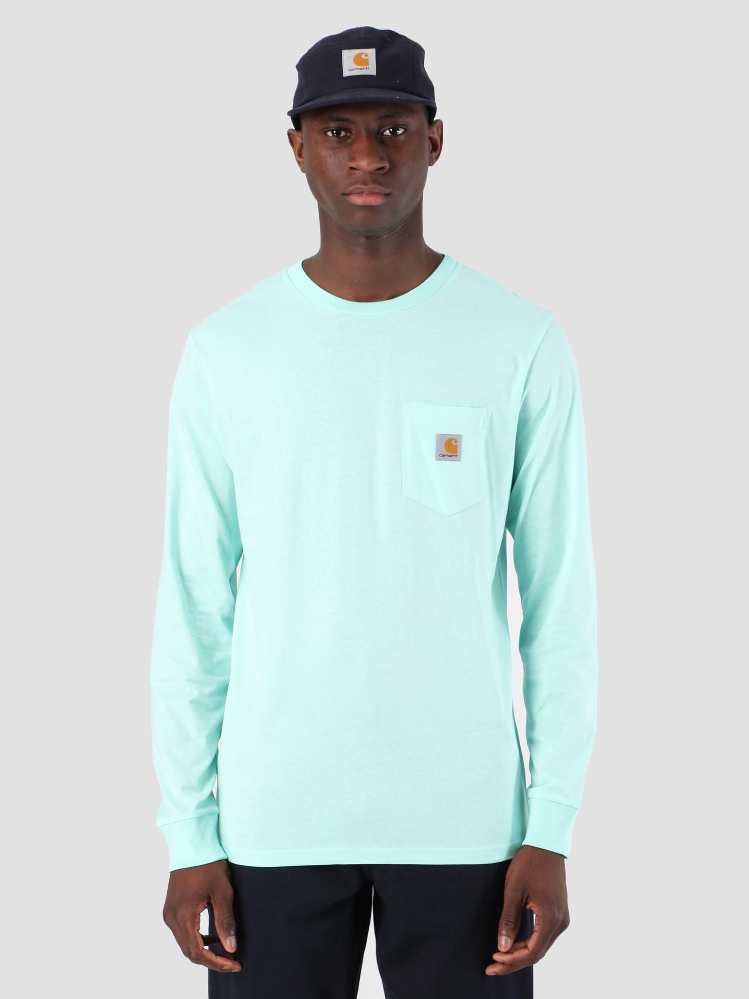 Carhartt WIP Carhartt WIP Long Sleeve Pocket T-Shirt Light Yucca 61091000