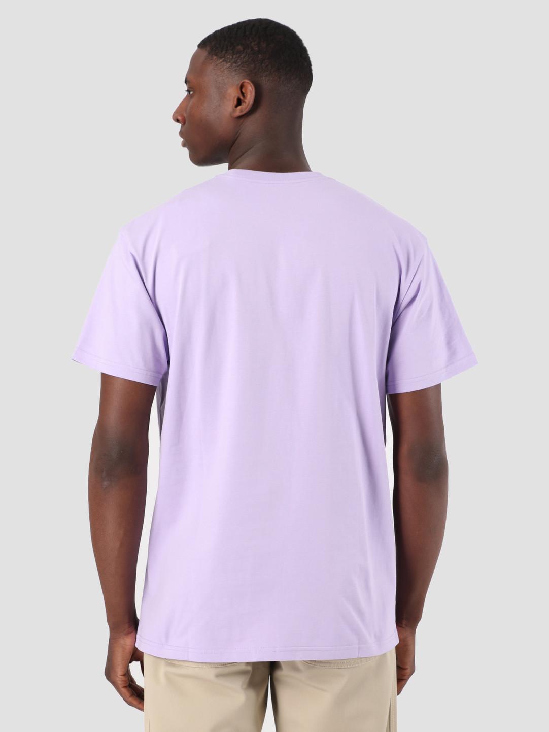 Carhartt WIP Carhartt WIP Short Sleeve Chase T-Shirt Soft Lavender Gold 61091000