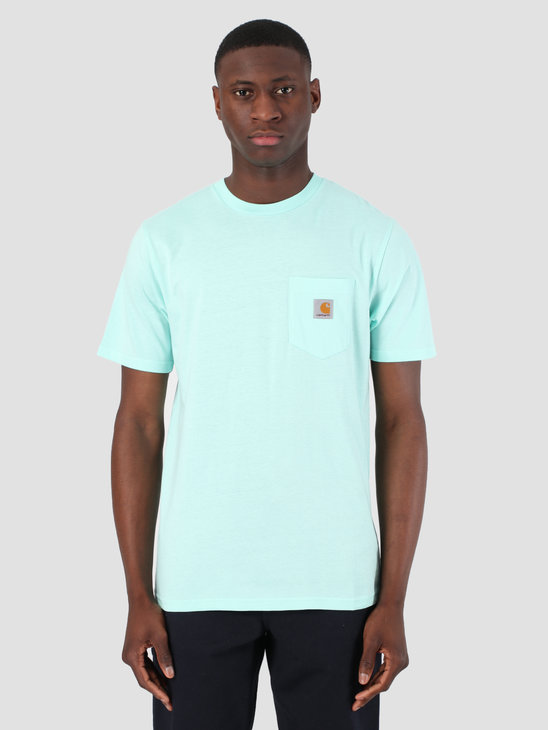 Carhartt WIP Short Sleeve Pocket T-Shirt Light Yucca 61091000