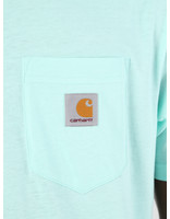 Carhartt WIP Carhartt WIP Short Sleeve Pocket T-Shirt Light Yucca 61091000