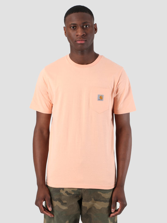 Carhartt WIP Short Sleeve Pocket T-Shirt Peach 61091000