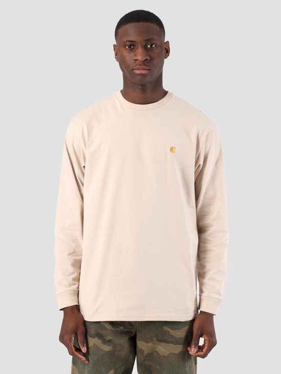 Carhartt WIP Long Sleeve Chase Shirt Boulder Gold 61091000