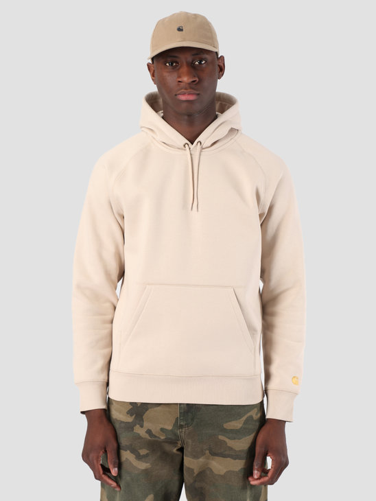 Carhartt WIP Hooded Chase Sweat Boulder Gold 61102099