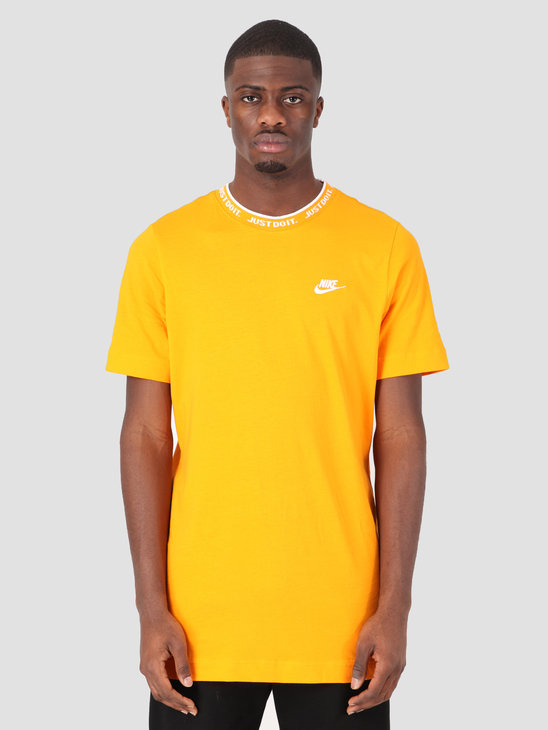 Nike Sportswear T-Shirt JDI Orange Peel White AT4160-833