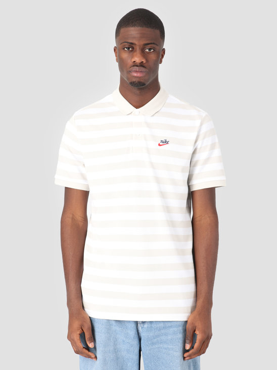 Nike Script Polo Light Bone BQ9074-072
